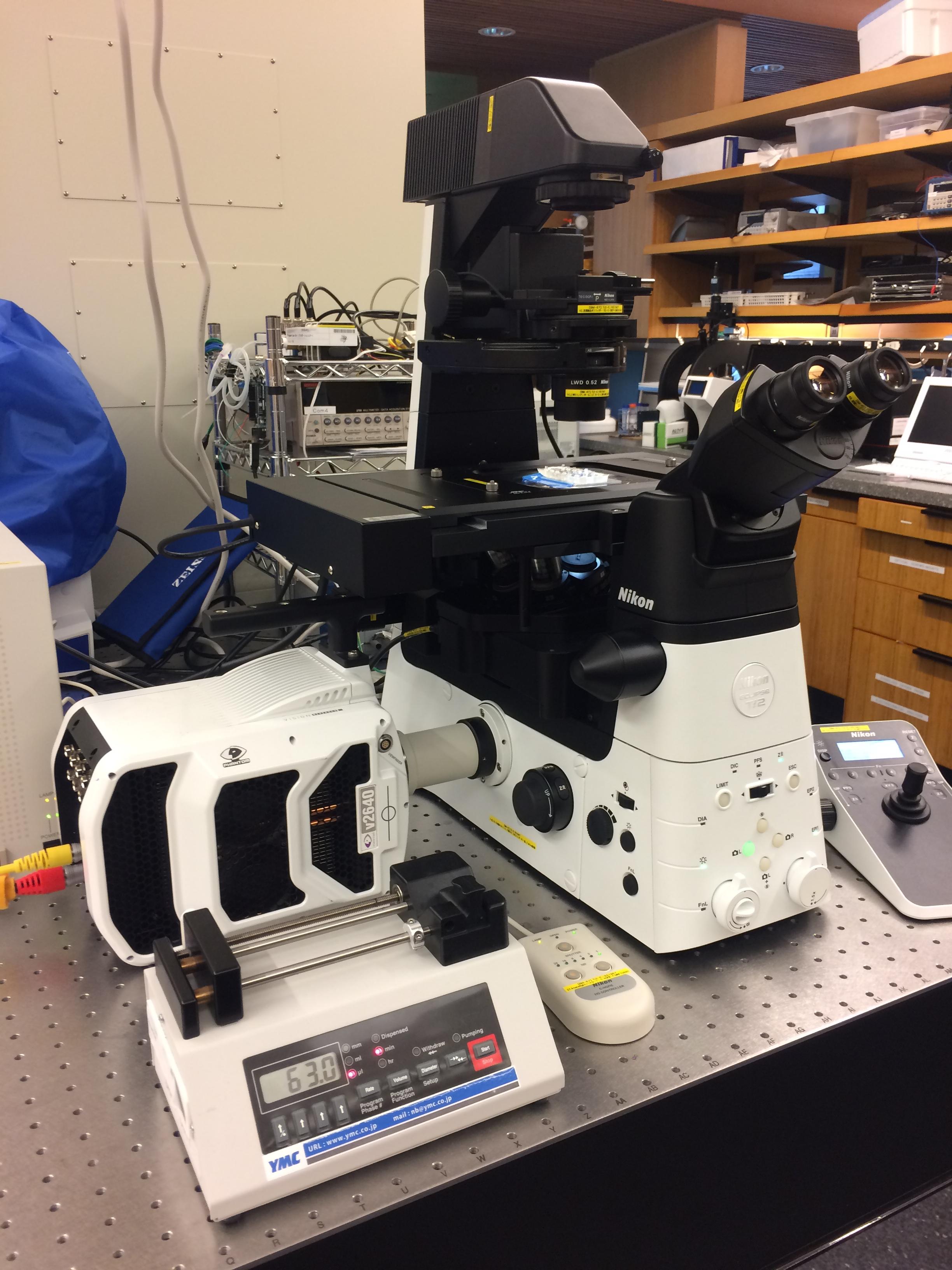 顕微鏡、マイクロスコープやボアスコープの拡大撮影