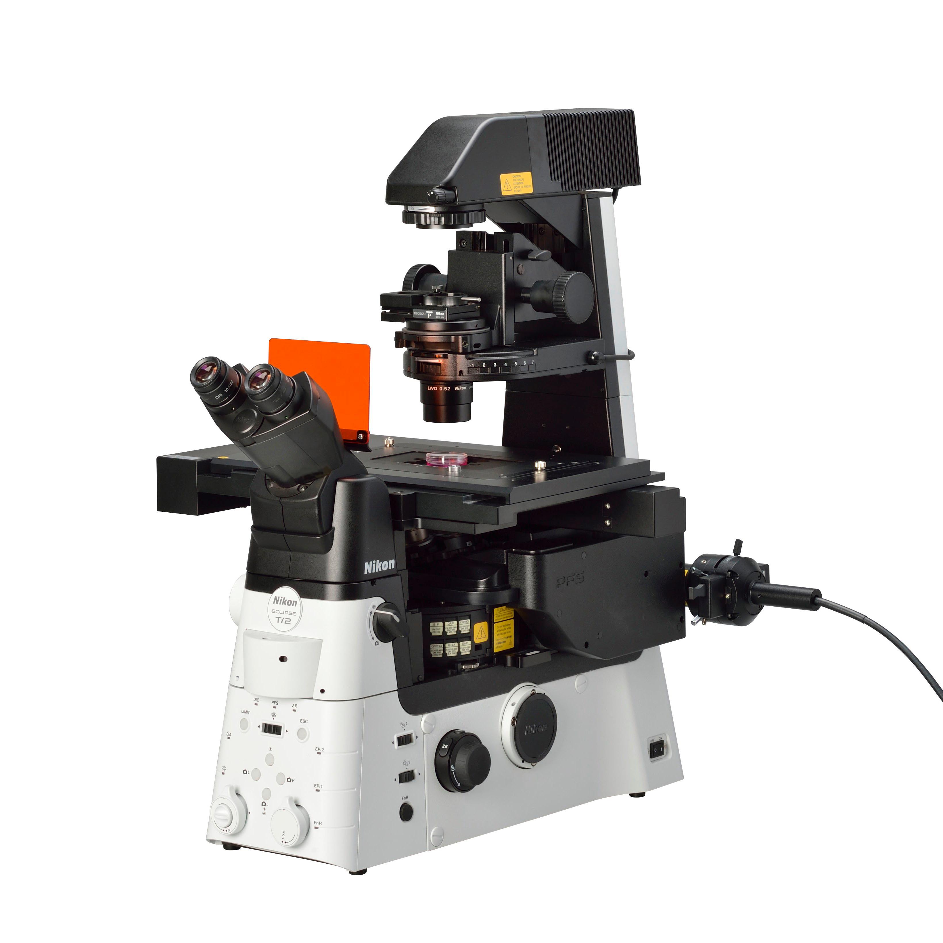 顕微鏡ニコン製 Eclipse Ti2