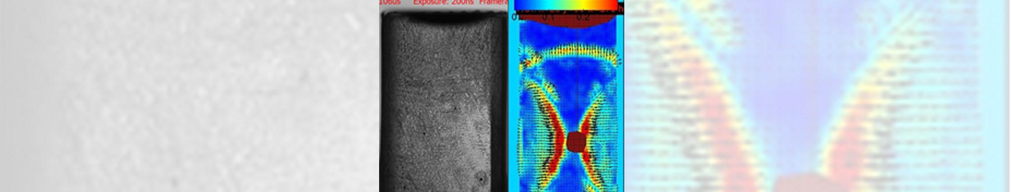 水中衝撃波の挙動のBOS解析