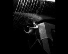金属ロールの切削