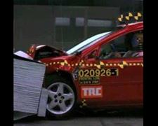 車両の衝突試験