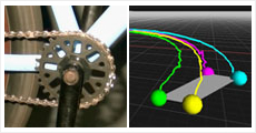 機械部品の3次元挙動の評価
