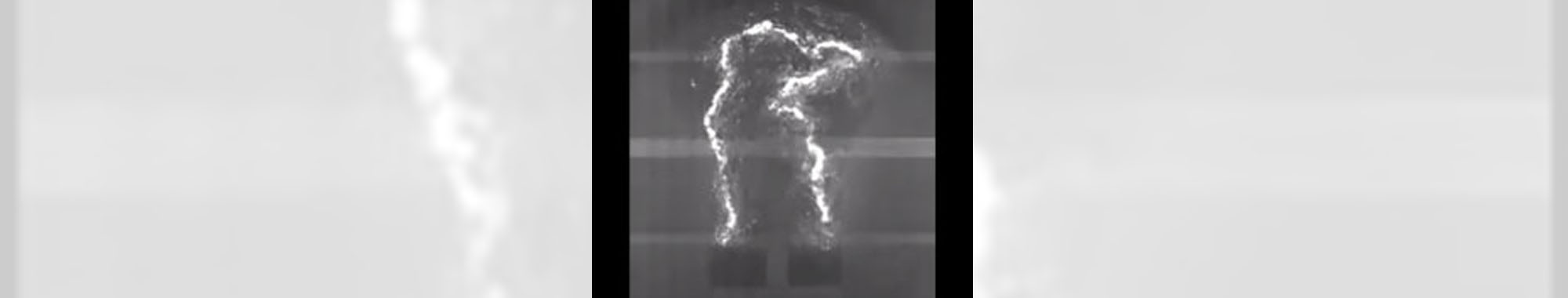 水中放電の撮影