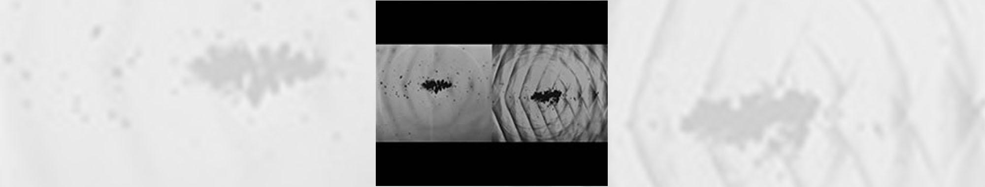 液中の超音波による衝撃波の可視化